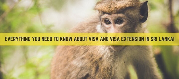 Everything you need to know about visa and visa extension in Sri Lanka!