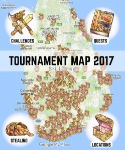 Tuk Tuk Tournament Map 2017 Challenge Quest Book