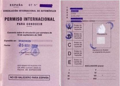 Es mi licencia de conducir válida en Sri Lanka, y qué debo hacer para conseguir la licencia internacional de conducir (IDP) para Sri Lanka example idp tuktuk rental international licence