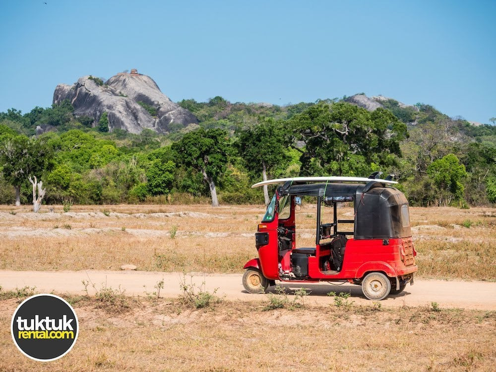 A tuktuk in Arugam Bay Sri Lanka