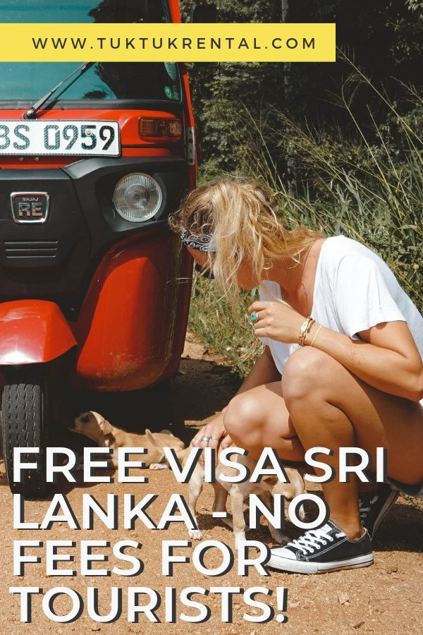 Free visa for Sri Lanka - No fees for tourists!